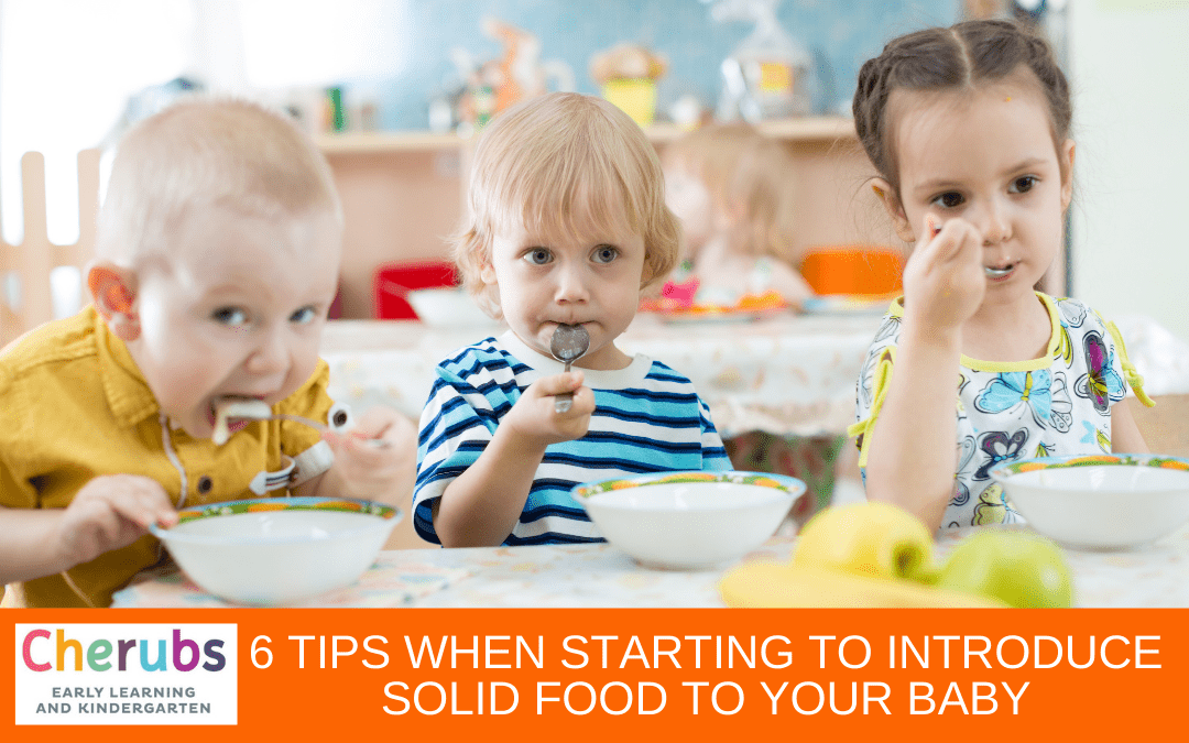 6 Tips When Starting to Introduce Solid Food to Your Baby